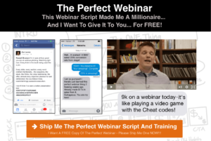 Get the Perfect Webinar - perfect webinar secrets to teach you how to create the best script to attract paying customers when using a webinar to market your products or services
