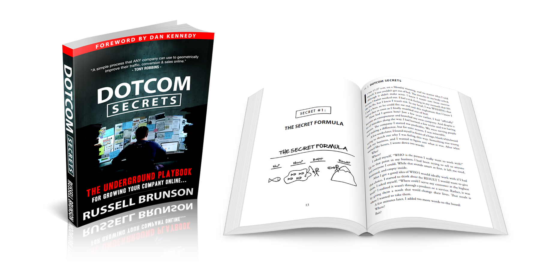 Get your FREE DotCom Secrets Book